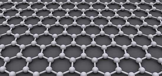 grafene disposizione atomica