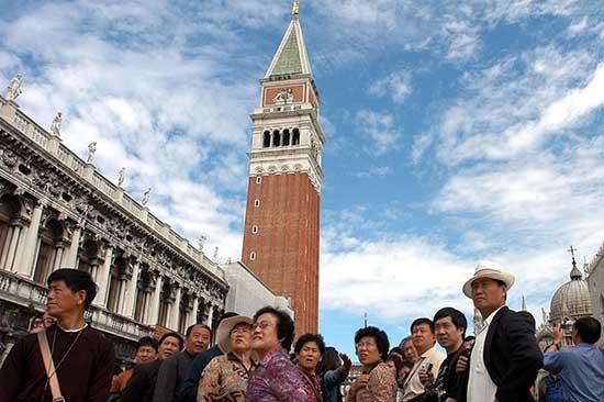 Venezia turisti cina
