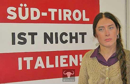 boschi klotz cartello sudtirol ist nicht italien