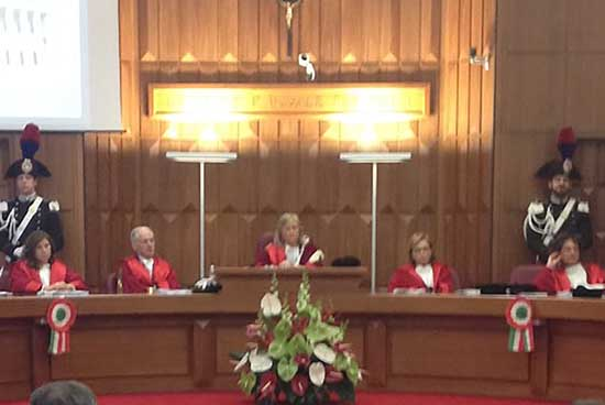 inaugurazione anno giudiziario trento