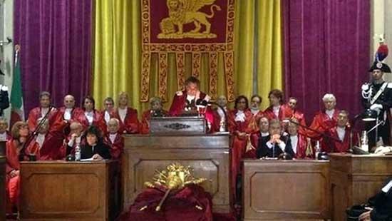 inaugurazione anno giudiziario venezia