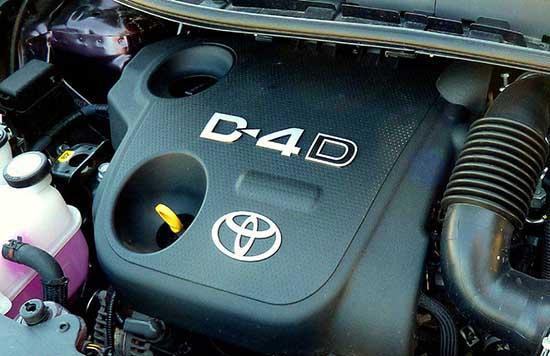 toyota motore diesel