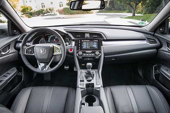 Honda Civic i DTEC Diesel interni