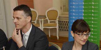Valter Flego Regione Istriana Debora Serracchiani Regione Friuli Venezia Giulia e Ivan Jakovcic Comitato Cooperazione internazionale Regione Istriana