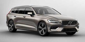 Volvo 2018 new V60 frontlat