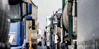 autotrasporto tir camion colonne