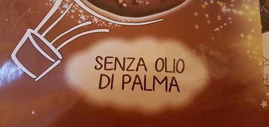 dolce senza olio palma
