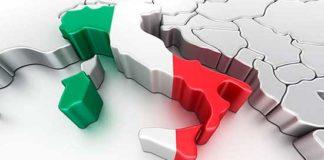 italia tricolore 3d