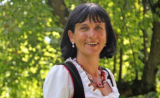 presidente dellAssociazione delle Donne Coltivatrici Sudtirolesi Hiltraud Neuhauser Erschbamer