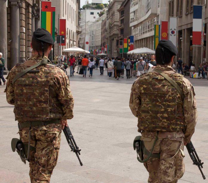 sicurezza trento esercito