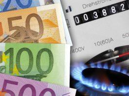 tariffe rincari per gas ed elettricità