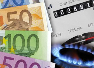 rincari per gas ed elettricità