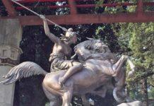 """restauro dello """"Scalone dell'Amazzone"""""""