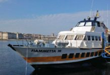 Trieste via aliscafo