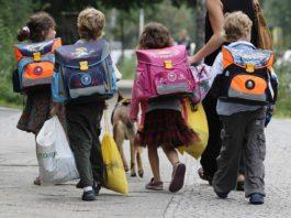 Trentino al via la scuola