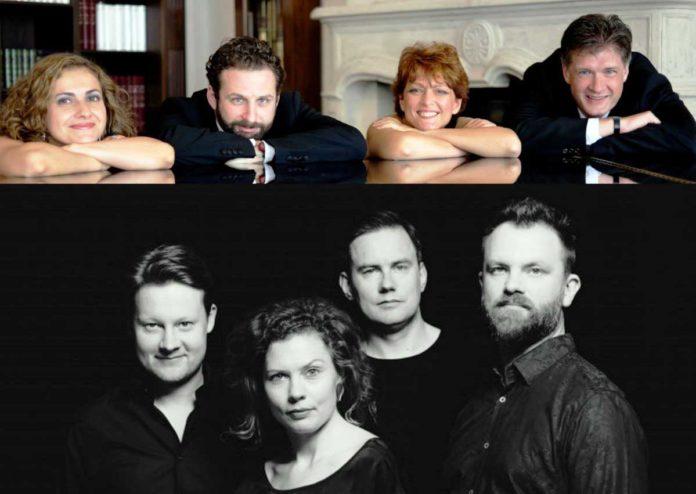ottetto Gringolts Quartet e Meta4 Quartet