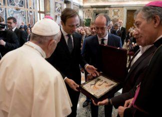 Friuli Venezia Giulia dal Papa
