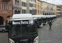 nuova flotta autobus Saf