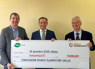 Pam local e Banco Alimentare