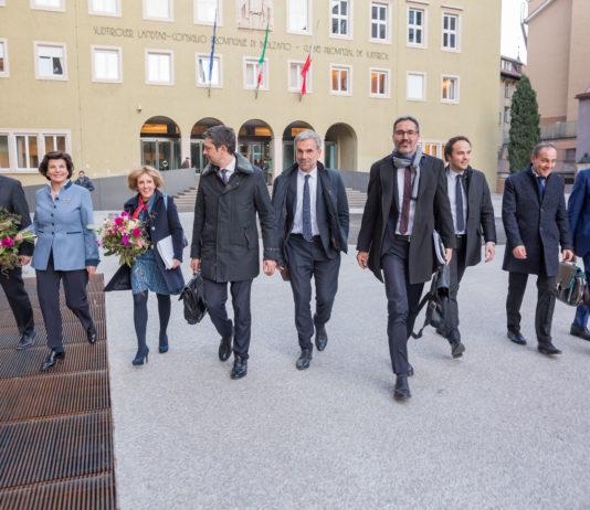 nuova giunta dell'Alto Adige