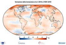 riscaldamento globale variazioni climatiche