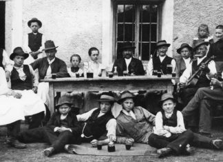 Emigrazione dalla montagna Dolomitica
