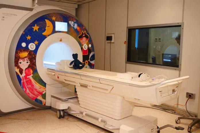 risonanza magnetica per bambini