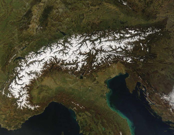 eurac research ghiacciai delle alpi