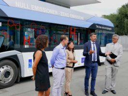 autobus elettrici ad idrogeno
