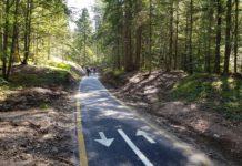 pista ciclopedonale Fondo-Mendola