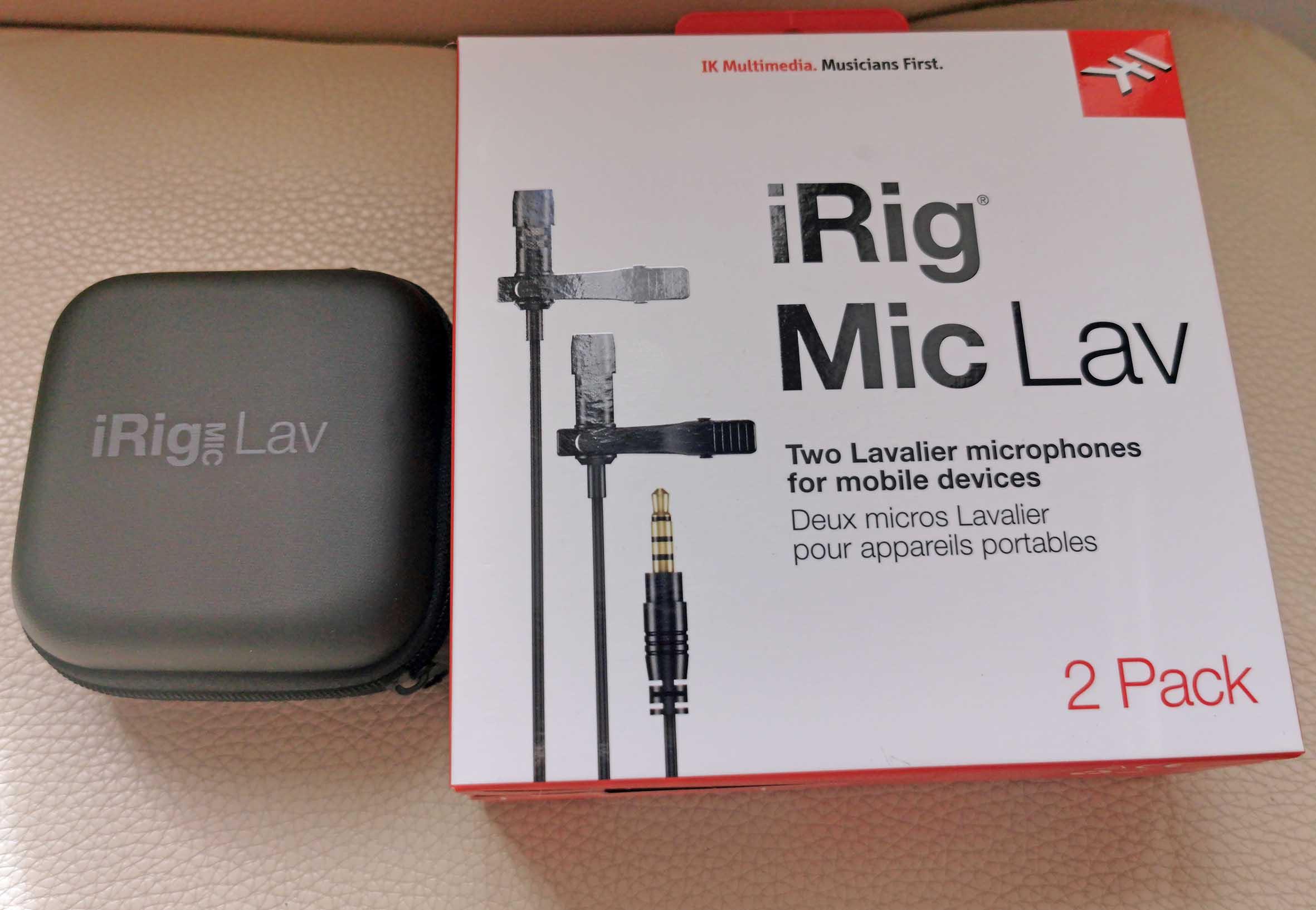 iRig Mic Lav IK Multimedia