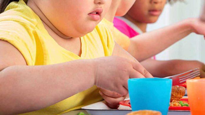 bambini sono obesi