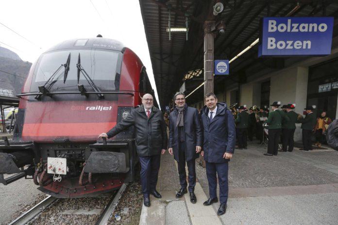 RailjetdirettoBolzano-Vienna