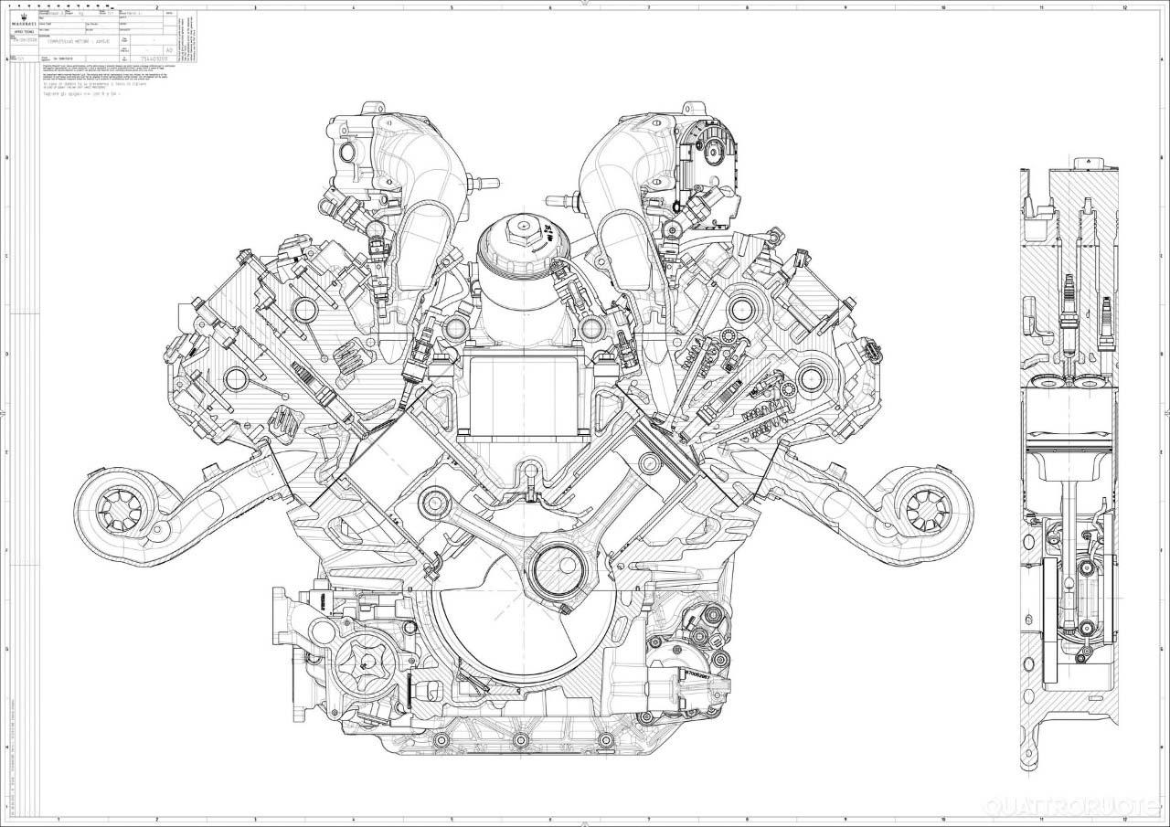 motore v6 nettuno