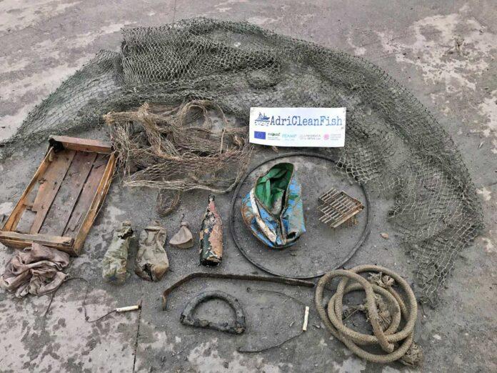 AdriCleanFish rifiuti marini