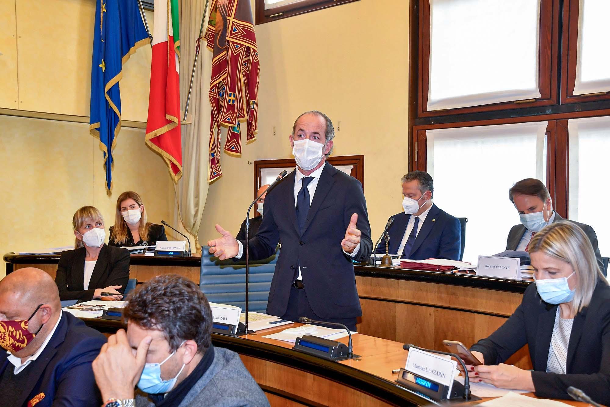 Zaia Presenta In Consiglio Regionale La Nuova Giunta Del Veneto Il Nordest Quotidiano