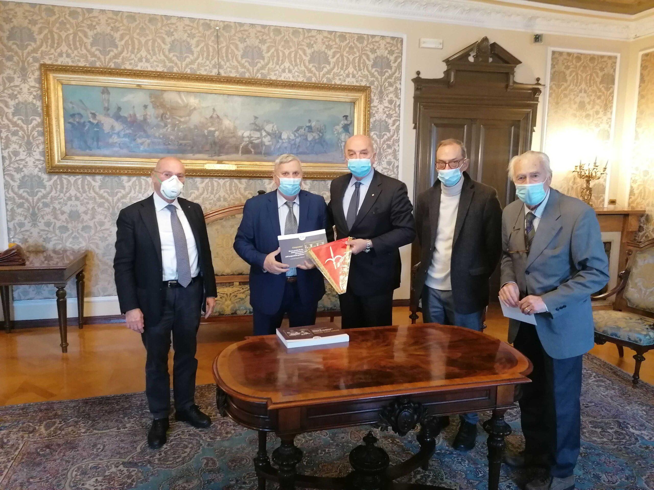 Associazione Giuliani Nel Mondo Il Nuovo Presidente E Franco Miniussi Il Nordest Quotidiano