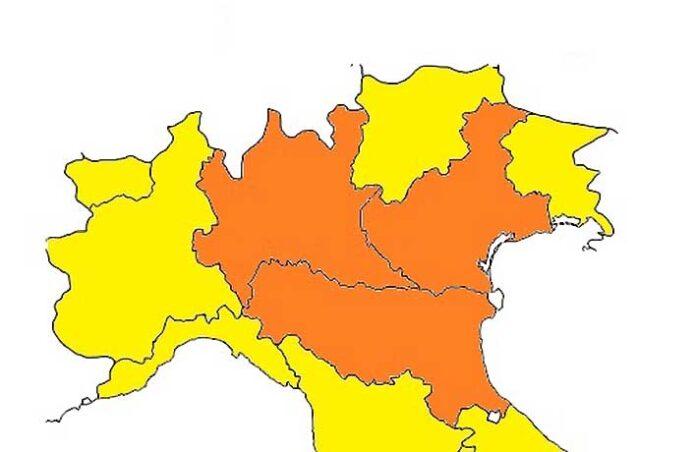 covid-19 zona arancione